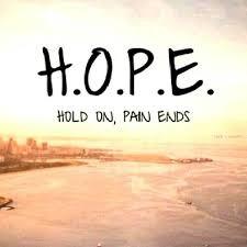 Rehabilitation Centre-Hope Quote