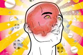 Rehab - Brain in mans head