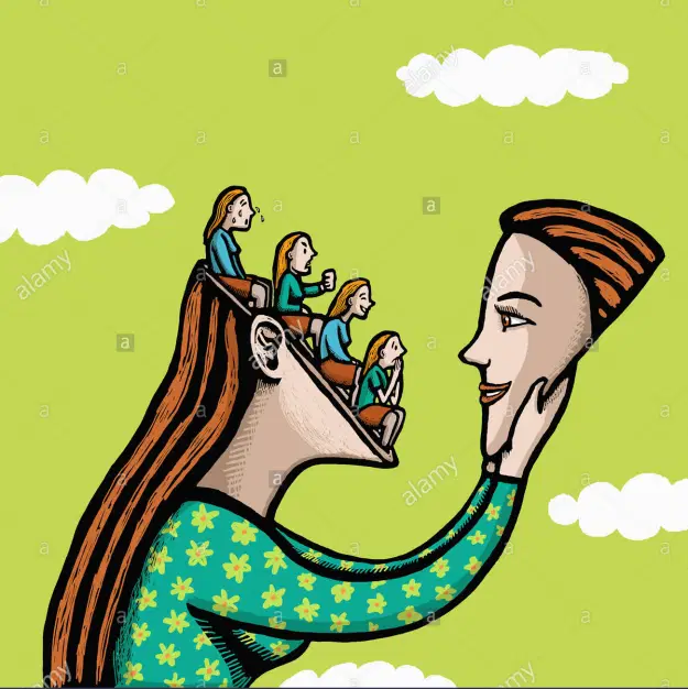 Rehabs - Girl with faces